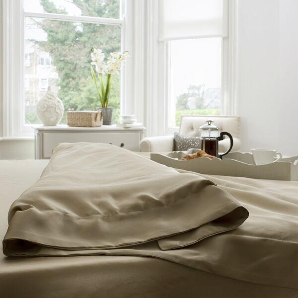 Jasmine Silk 100% 19 mm Charmeuse Seide Bettbezug (taupe) Super King | Treten Sie ein in die Welt der Spielzeuge und finden Sie eine Quelle des Glücks