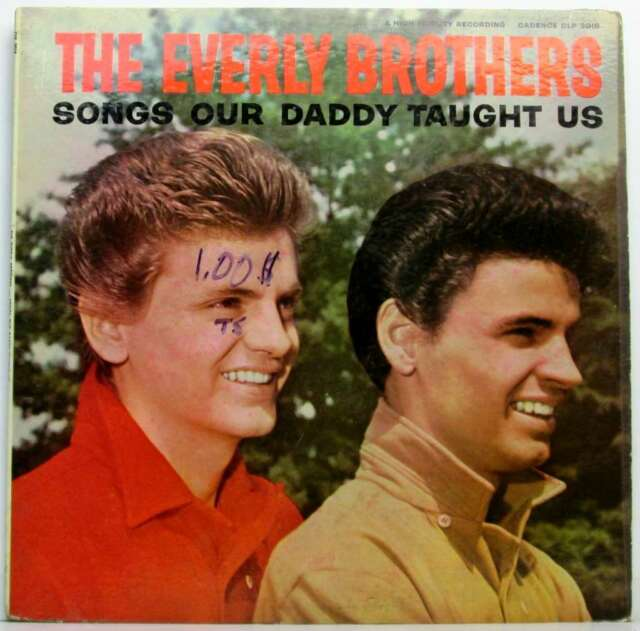 Songs Our Daddy Taught Us...Vinyl.Good