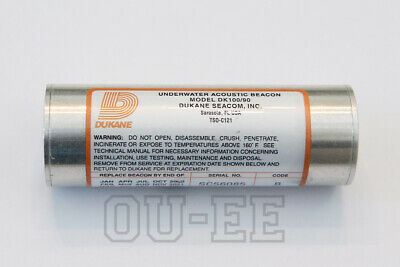 with MAY 2020 Battery Exp Date NOS DK100//90 Dukane Underwater Beacon ULB