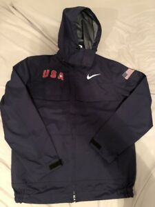 Women S Nike Usa 🇺🇸 Wind Repeal Jacket Navy Blue Sz S 2018