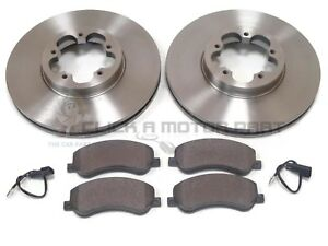 BRAKE BOX NEW MINTEX FRONT BRAKE DISCS AND PAD SET MDK0238