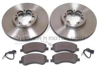 FORD TRANSIT 280 300 2.2 TDCi FWD 06-13 FRONT AND REAR BRAKE DISCS /& PADS SET