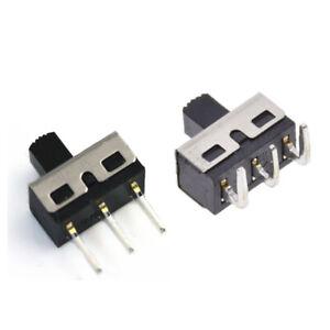 4-7mm-2A-125V-SPDT-1P2T-2-Position-3-Pin-Slide-Switch-5mm-Shaft-Straight-Curved