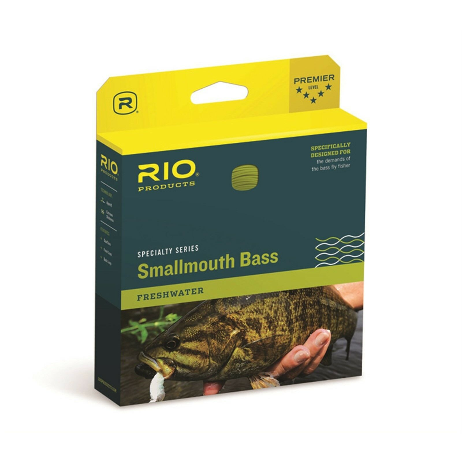 RIO Smallmouth Bass Fly Line - WF6F - New