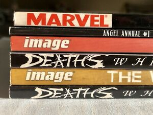 HORROR-TPB-LOT-The-Walking-Dead-DEAD-WORLD-Image-Marvel-Comics-graphic-novels