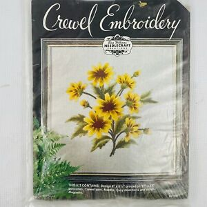 Elsa Williams Kc1361 Black Eyed Susan Crewel Embroidery Kit Yellow Brown Daisy Ebay We can mix lots of colours yellow and red make orange, and yellow and blue make green. ebay