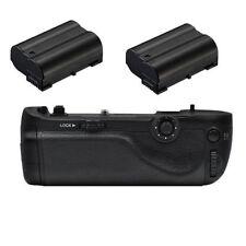 Multi Power Battery Grip Pack for Nikon D750 DSLR + 2x EN-EL15 Battery as MB-D16