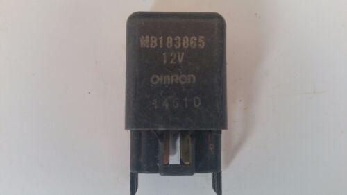 Relé de OMRON Negro MB183865