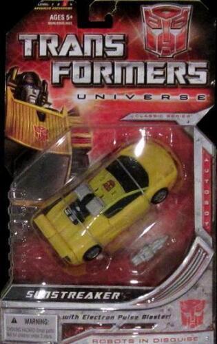 Transformers Universe Classics Deluxe Autobot SUNSTREAKER-non ouvert sur la carte!