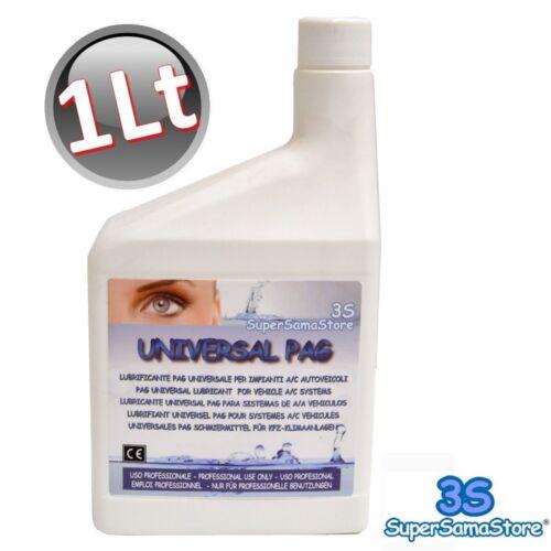 3S REFRIGERATION REFRIGERANT 1 LT OIL LR PAG UNIVERSAL for A/C R134A R410A R22