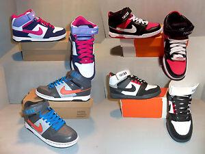 reputable site 5e267 4771d Details about Nike 6.0 Girl s Boy s Mogan Mid 2 Jr Skateboard Shoes NIB  SIZES! COLORS! NEW