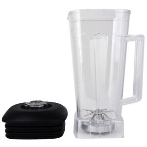 New 2l Replacement Cup Commercial Blender Jar Bpa Free 60