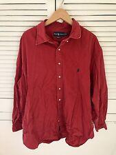 RALPH LAUREN Classic Fit Dark Pink Shirt Size XXXL 3XL VGC