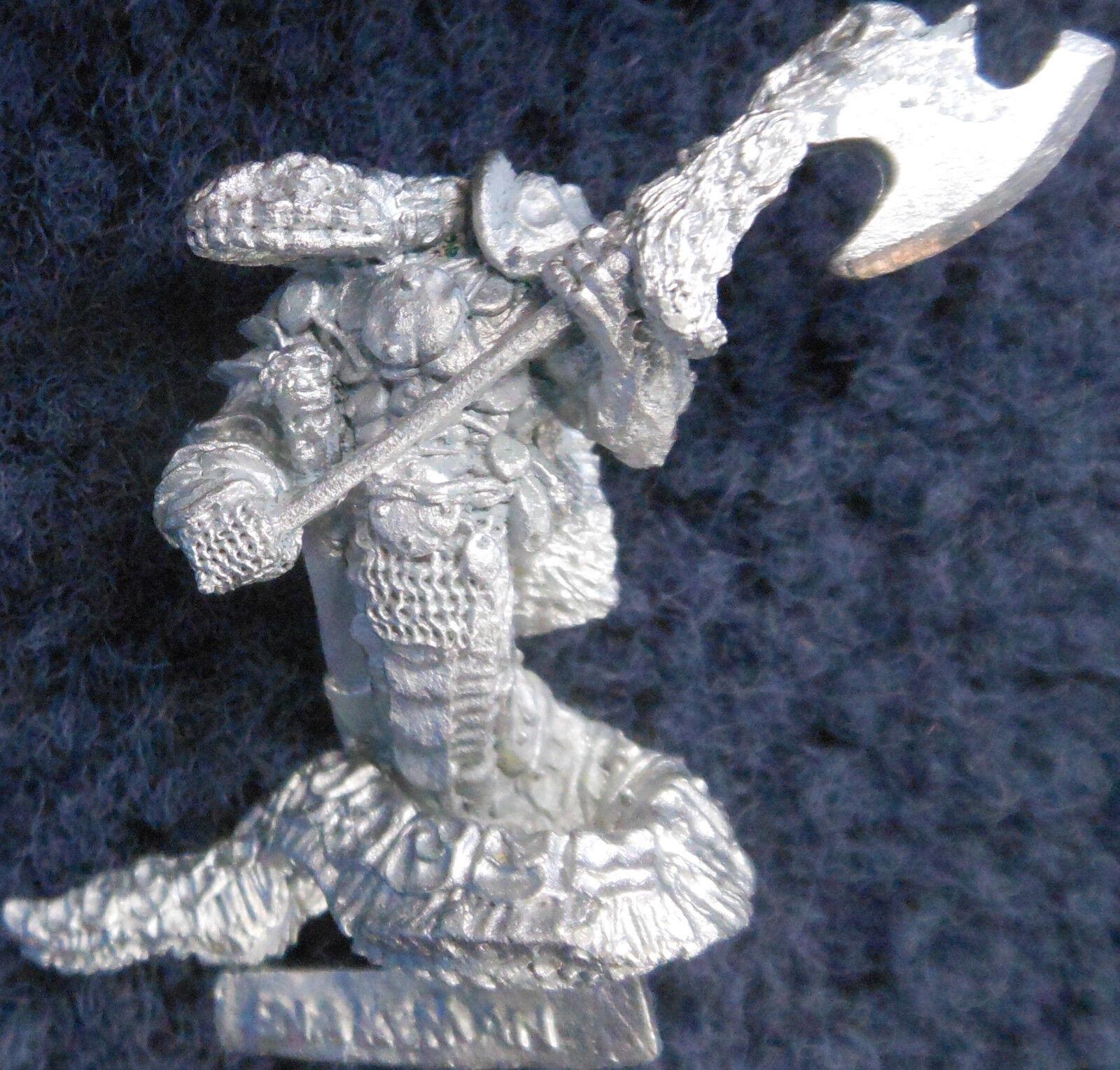 1985 Chaos Snakemen S'Sirron Fangthrane C27 Snake Man Yuan-ti Citadel Army 0215