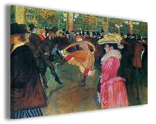 Quadro moderno Henri de Toulouse Lautrec vol VII stampa su tela canvas famose