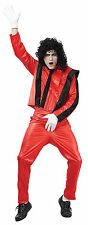 Michael Jackson Thriller 80s 1980s Pop Star Mens Fancy Dress Costume Outfit