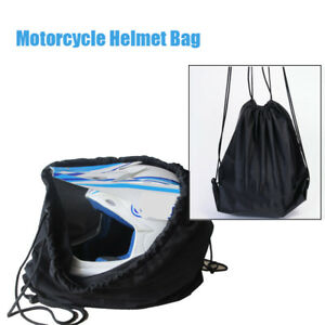 Motorrad Roller Helm Deckel Schutztasche Schwarz Tasche ziehen
