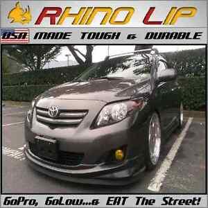 Toyota Yaris Venza Tercel Echo Paseo Front Bumper Lip Rubber Chin Splitter Trim Ebay