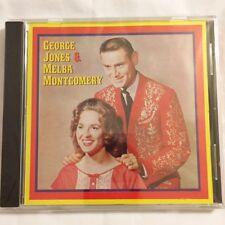 George Jones & Melba Montgomery by George Jones/Melba Montgomery (CD, Deluxe)