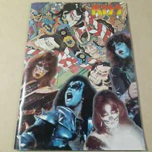 Kiss-Tour-Book-1977-Japan-Program-Pamphlet-Rare-book-Retro-Limited-music-Rock