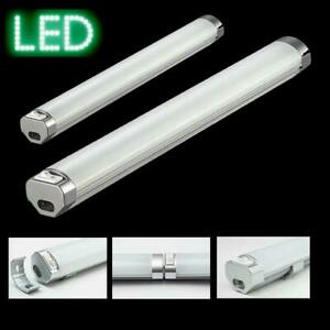 Kuechenleuchte-Unterbauleuchte-Eckleuchte-LED-30-60-cm-Alu-Moebelleuchte-Lampe