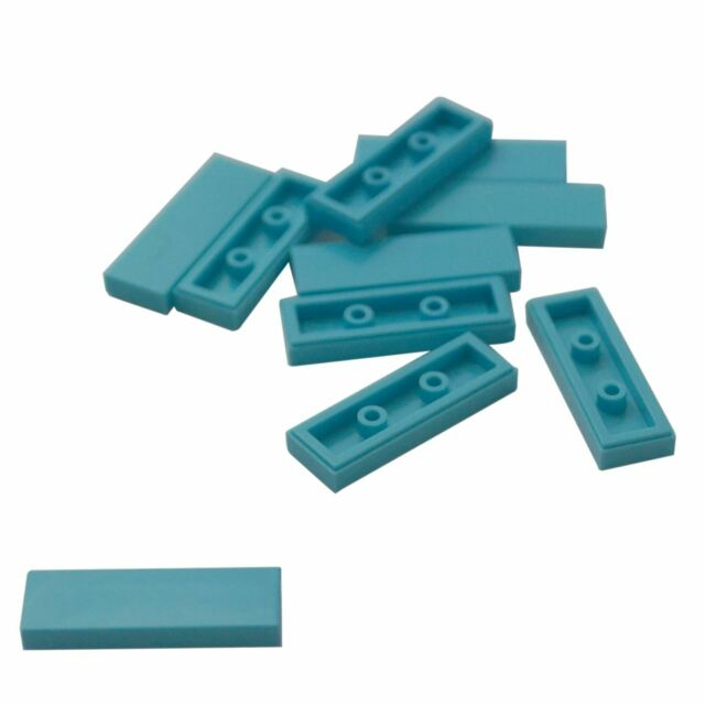 ** 25 CT LOT **  Lego NEW medium azure 6 x 10 plate pieces   Lot of 25