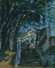 The Stairs In Chartres Chaim Soutine  24' CANVAS