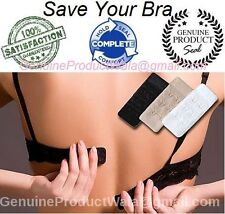 Soft Bra Extender 2 Hook: Set of 3+ Premium Quality+ Perfect Fiting= NO BRA PAIN