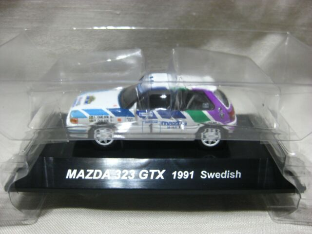 1 64 Cms Rally Car Collection Ss15 Mazda 323 4wd 1990 Monte Carlo