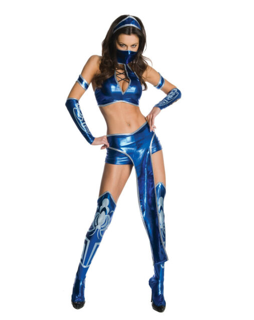 Mortal Kombat - Sexy Kitana Adult Costume