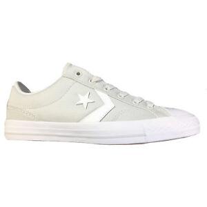 Details zu Converse Star Player OX Herren Sneaker hellgrau weiß 161074C