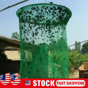 The-Ranch-Fly-Trap-Outdoor-Fly-Trap-Killer-Bug-Cage-Net-Perfect-For-Horses