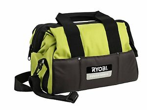 Bag Tools Ryobi Handles Padded Wide Pockets Interior And Exterio