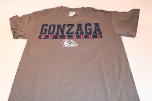 Vintage Gonzaga Bulldogs Campus T-Shirt NCAA