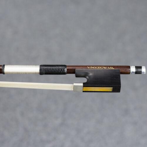 VingoBow Master Pernambuco Viola Bow Antique D Peccatte Model Warm Tone