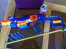 Nerf N Strike Elite Stockade Blue Orange Toy Gun Fun 5 Bullets Rifle Original