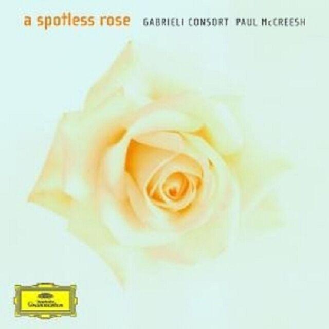 "GABRIELI CONSORT/PAUL MCCREESH ""A SPOTLESS ROSE"" CD NEU"