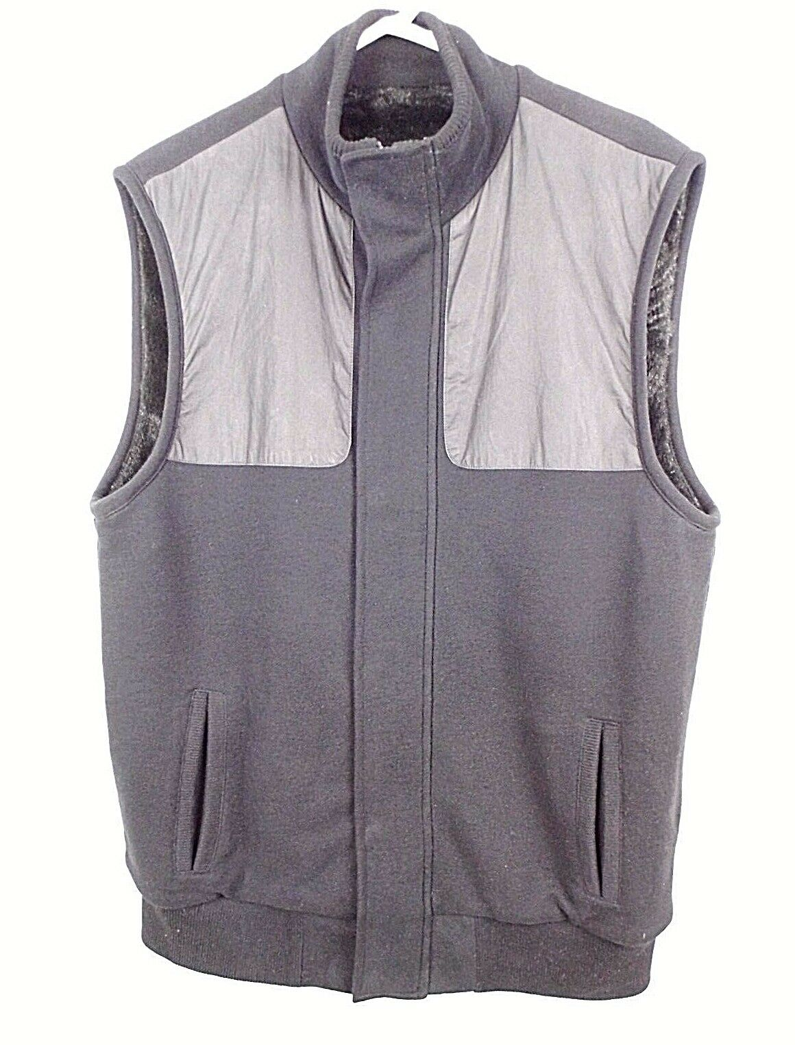 Mens Armani Exchange Vest Size L Large A X Faux Fur Lined Hunting Shooting Style