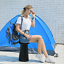 Portable Retractable Folding Stool Outdoor Travel Camping Fishing Chair