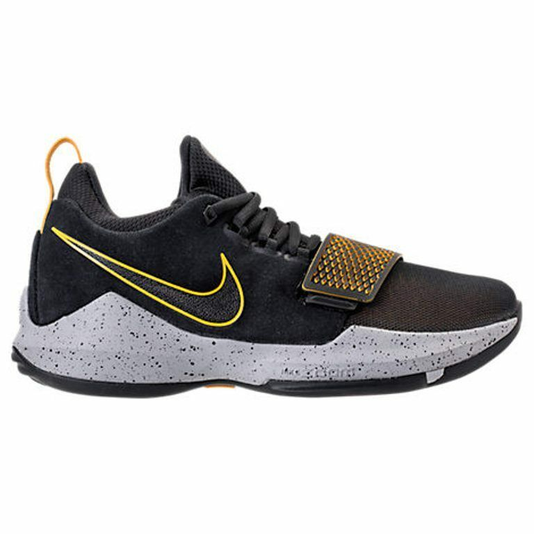 Homme NIKE PG 1  Noir /UNIVERSITY Doré BASKETBALL Chaussures Homme SELECT YOUR Taille