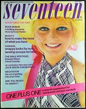 SEVENTEEN MAGAZINE July 1972 VG+ ● Boutique Women Beauty Summer Fashion Make-up