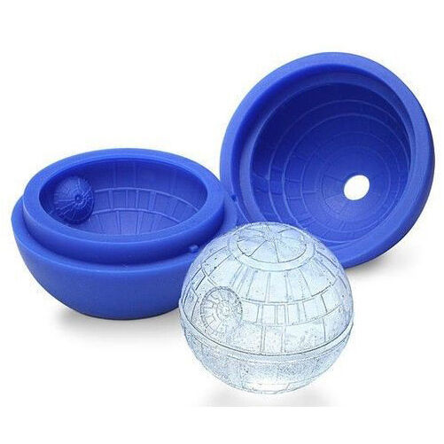 Silicone Star Wars Whiskey Death Star Ice Cube Tray Mould Mold Desert Sphere