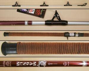 BNM Silver Cat Magnum 8' Catfish Casting Rod 2pc Fishing Rod Model MAG80C