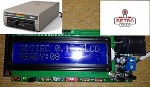 Commodore-64-128-1541-Disk-Drive-Emulation-SD2IEC-LCD-SD-Card-Reader-NEW-v-2017