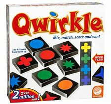 Qwirkle Mind Strategy Game Abstract Fun Twist on Scrabble Match Shapes Colors