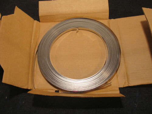 """100ft M Dixon Valve SS500 1//2/"""" Type 201 Stainless Steel Band /& Buckle Strapping"""