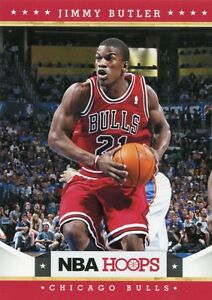 Details about 2012-13 NBA HOOPS JIMMY BUTLER ROOKIE RC #249 NEW TO MIAMI  HEAT MARQUETTE HOT