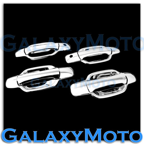 05-12 GMC Canyon Triple Chrome Plated ABS 4 Door Handle w// PSG Keyhole Cover