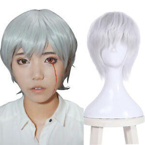 Gintama-Sakata-Gintoki-Cosplay-Party-Wigs-Short-Silver-White-Hair-Wig
