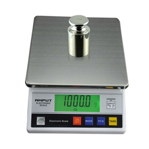 New 7.5kg x 0.1g Electronic Precision Lab Digital Balance Scale w// Counting